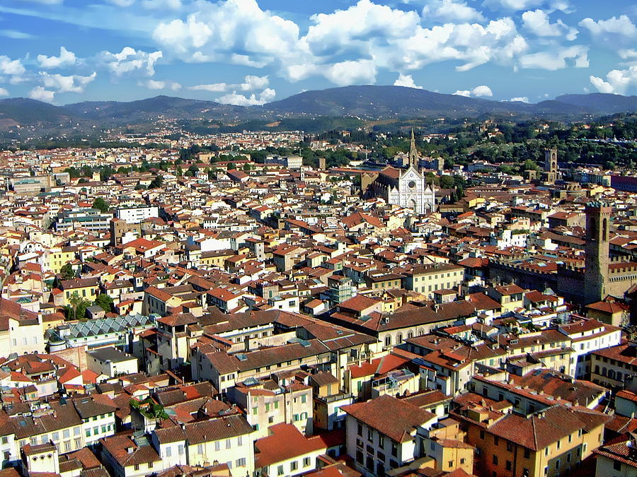 Rooftops of Florence by Anthony Dezenzio