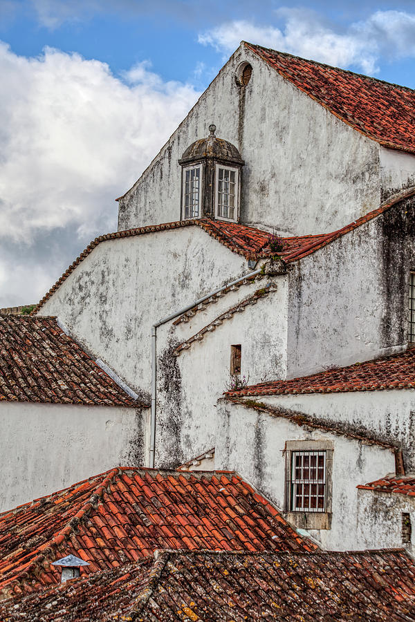 Rooftops of Obidos by David Letts