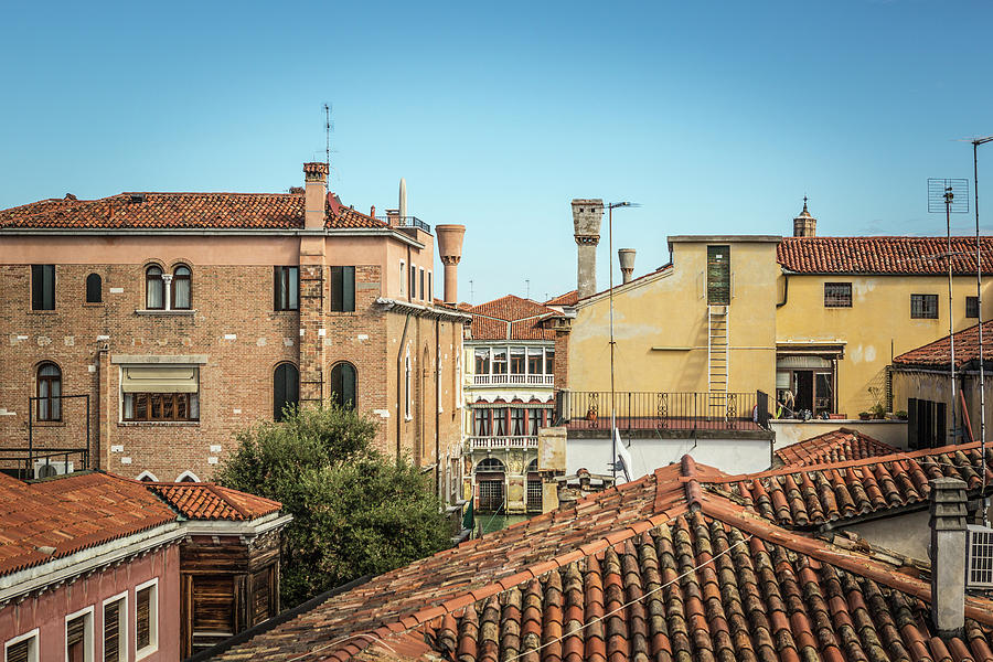 Rooftops Venice by John Lattanzio