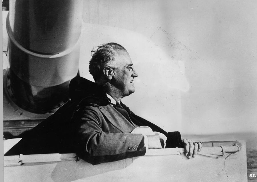Roosevelt At Sea Photograph by Keystone