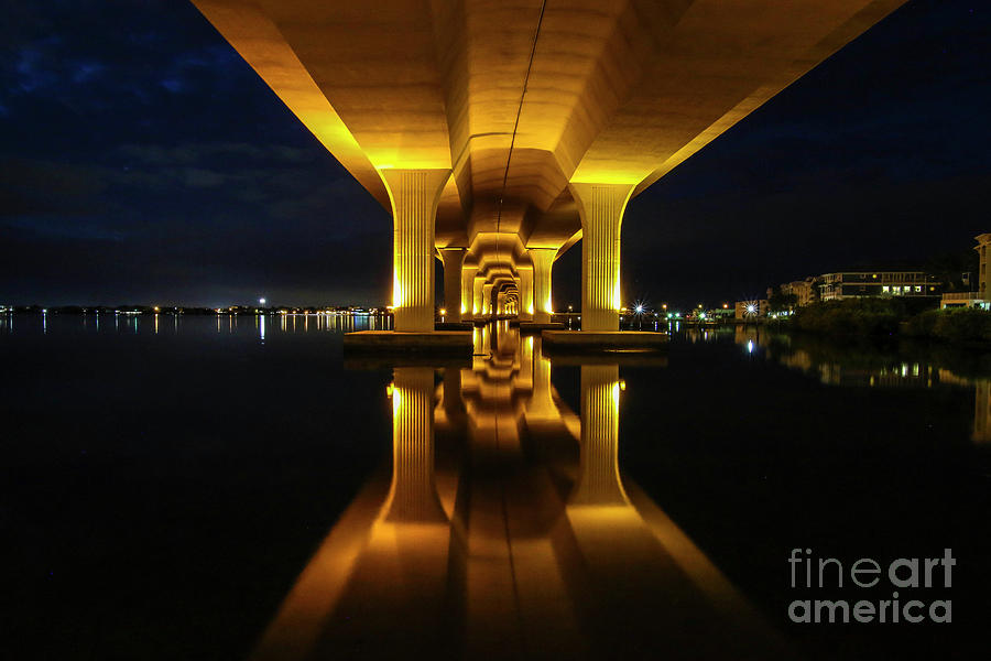 Roosevelt Mirror Reflection by Tom Claud