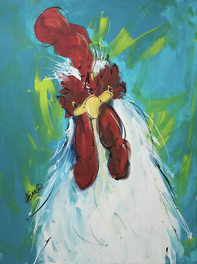 Rooster Cogburn by Terri Einer