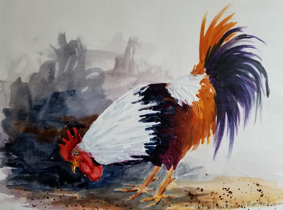 Rooster by Lettie Neuhauser-MacLachlan