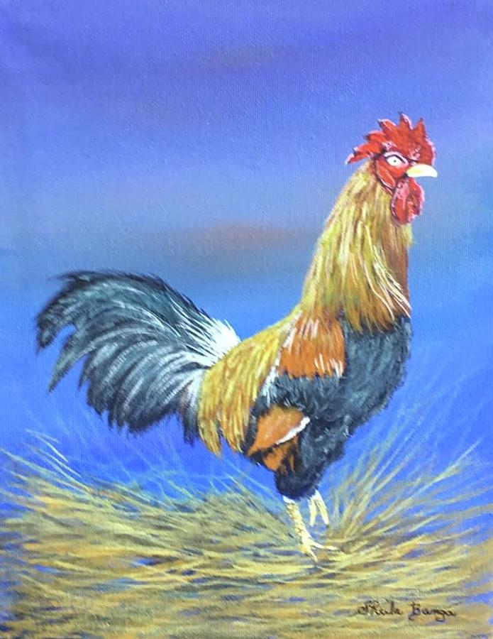 Rooster by Sheila Banga