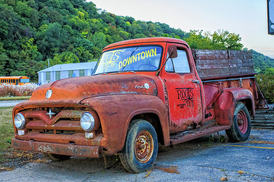 Roots Ford F-250 Truck In Guttenburg, Iowa Photograph