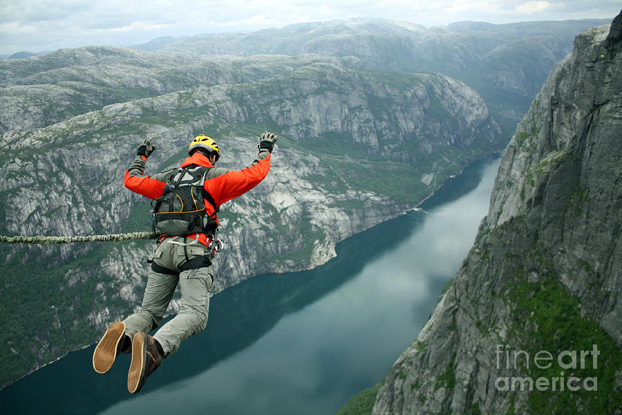 Activity Photograph - Rope Jumping by Vitalii Nesterchuk