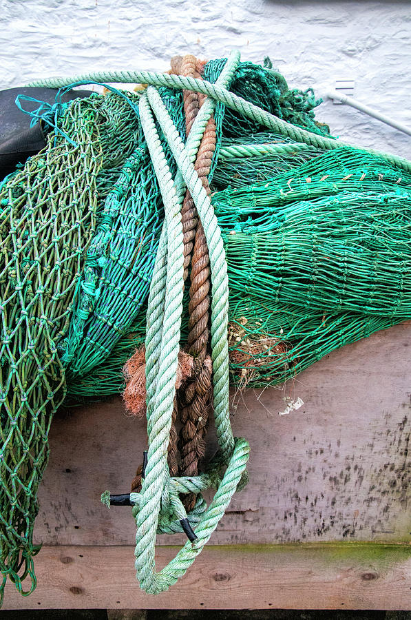 Ropes and Fishing Nets by Phyllis Taylor