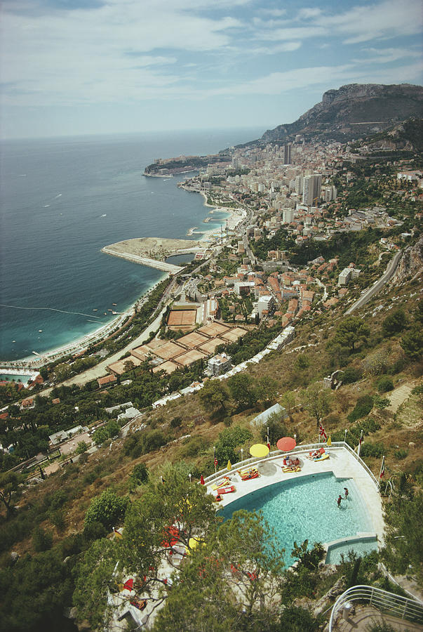 Roquebrune-cap-martin Photograph by Slim Aarons