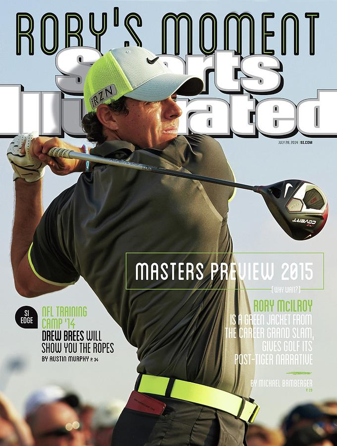 Rorys Moment 2014 British Open Sports Illustrated Cover Photograph by Sports Illustrated