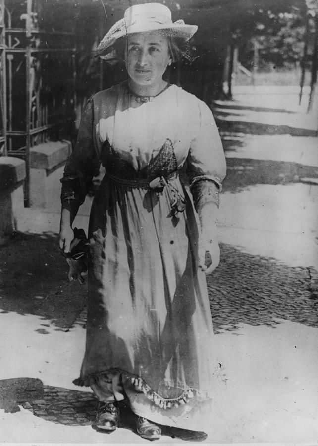 Rosa Luxemburg Photograph by Henry Guttmann Collection