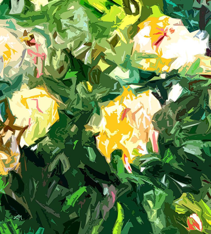 Roses Digital Art - Rose Fantasy One by Linda Mears