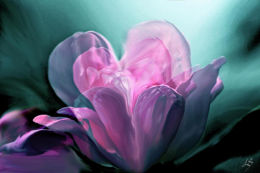 Rose Heart by Linda Sannuti