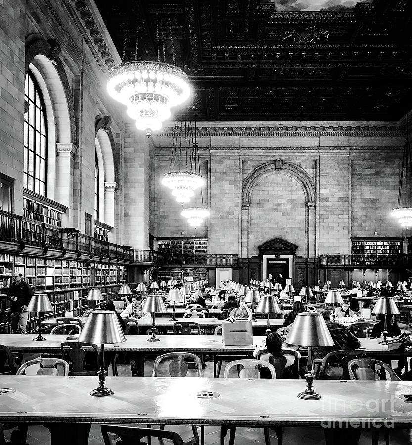 Rose Main Reading Room, Nyc, Public Library Photograph by JMerrickMedia
