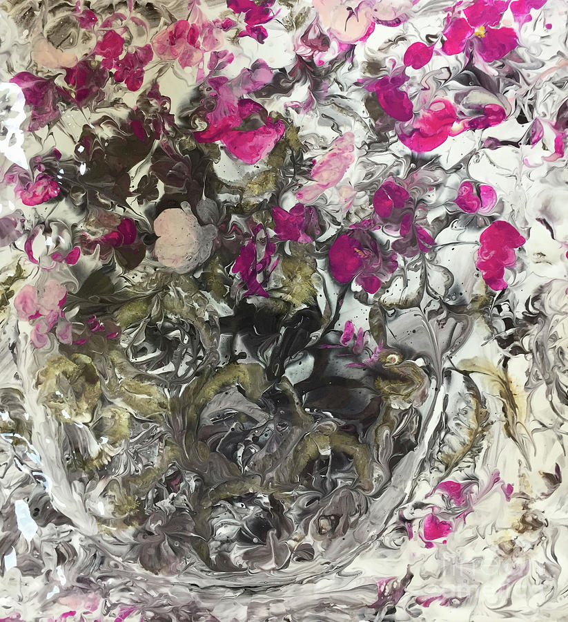 Rose Petals and Crystal by Marlene Book