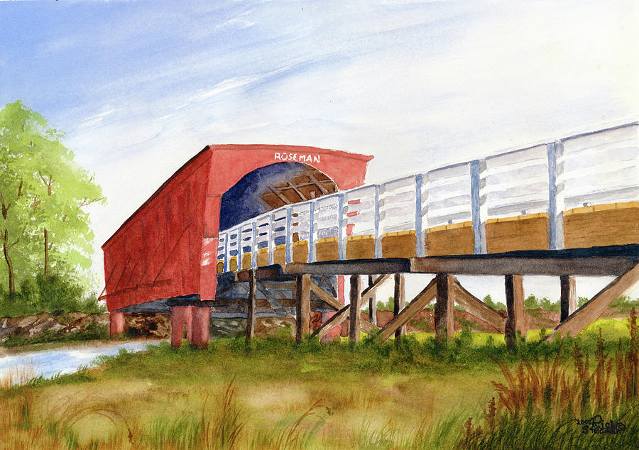 Roseman Bridge by Richard Stedman