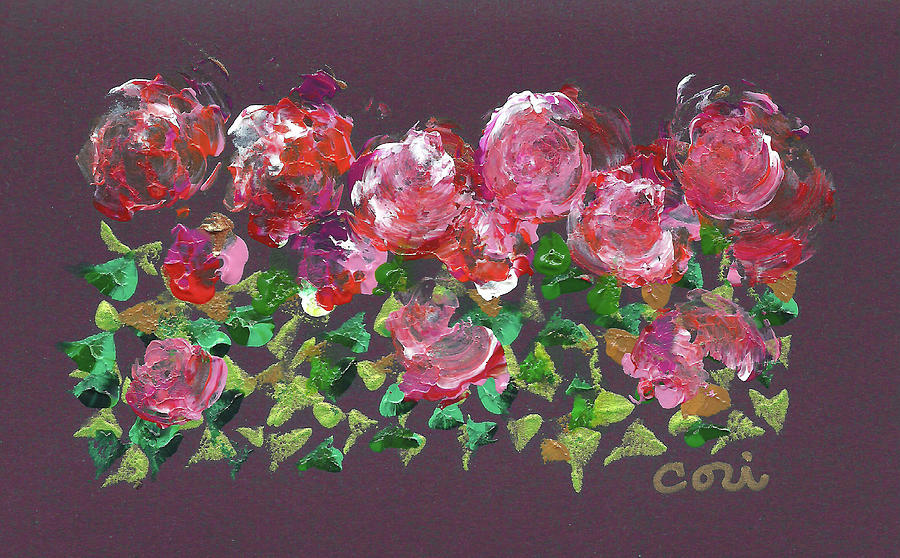 Roses 1001 by Corinne Carroll