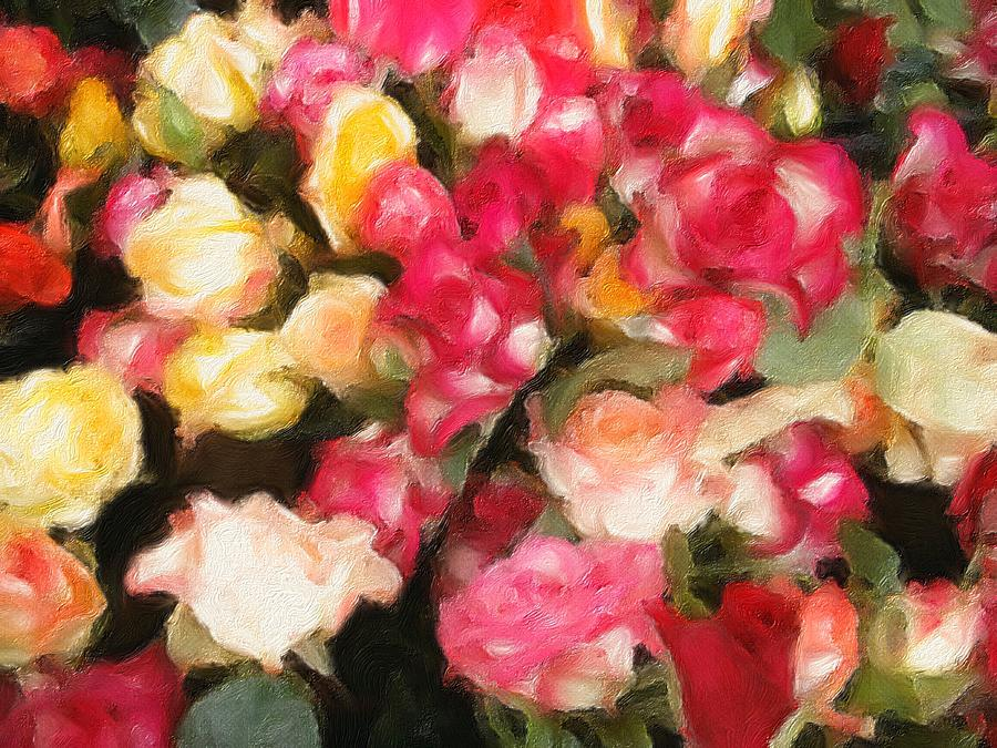 Roses Galore by Georgiana Romanovna