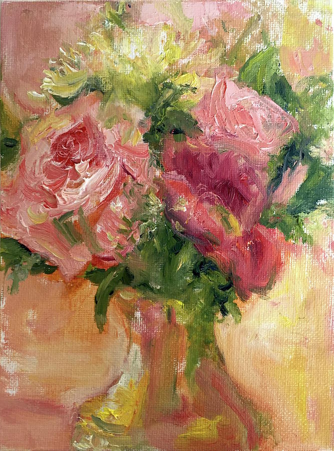 Roses in Gold by Quin Sweetman