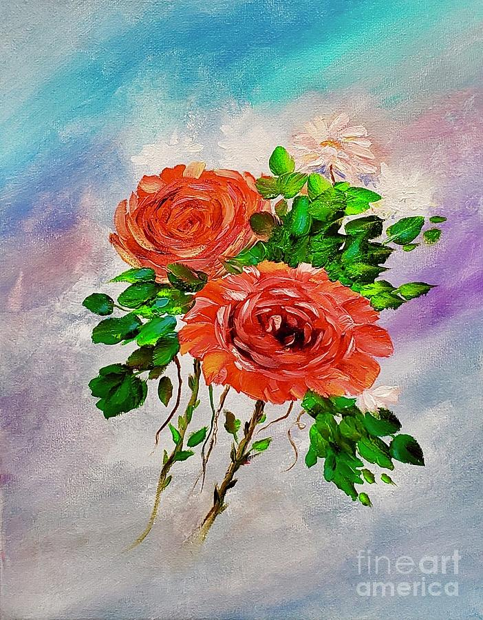 Roses by Mary Scott