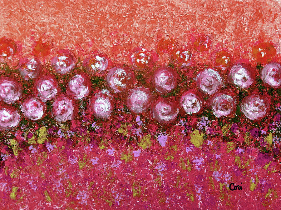 Roses of Hot Summer by Corinne Carroll