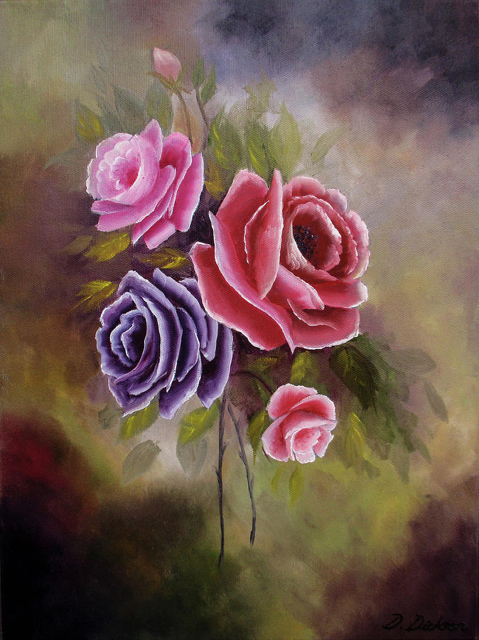 Roses Spring Bouquet by Debra Dickson