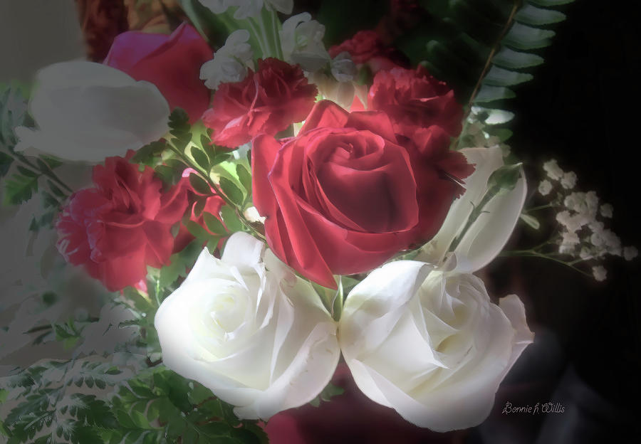 Roses with a Glow by Bonnie Willis