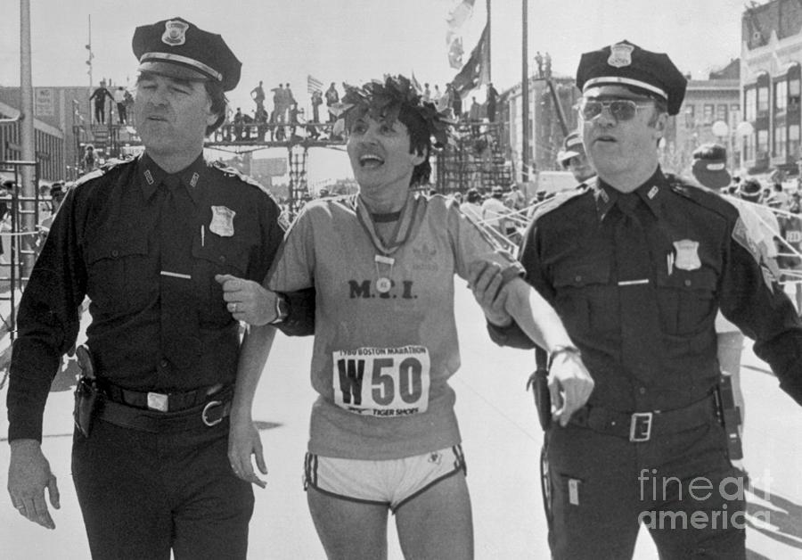 Rosie Ruiz After Winning Marathon Photograph by Bettmann