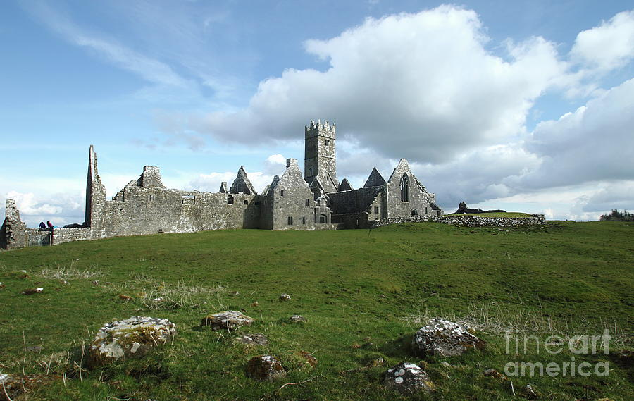 Ross Errilly Friary by Peter Skelton