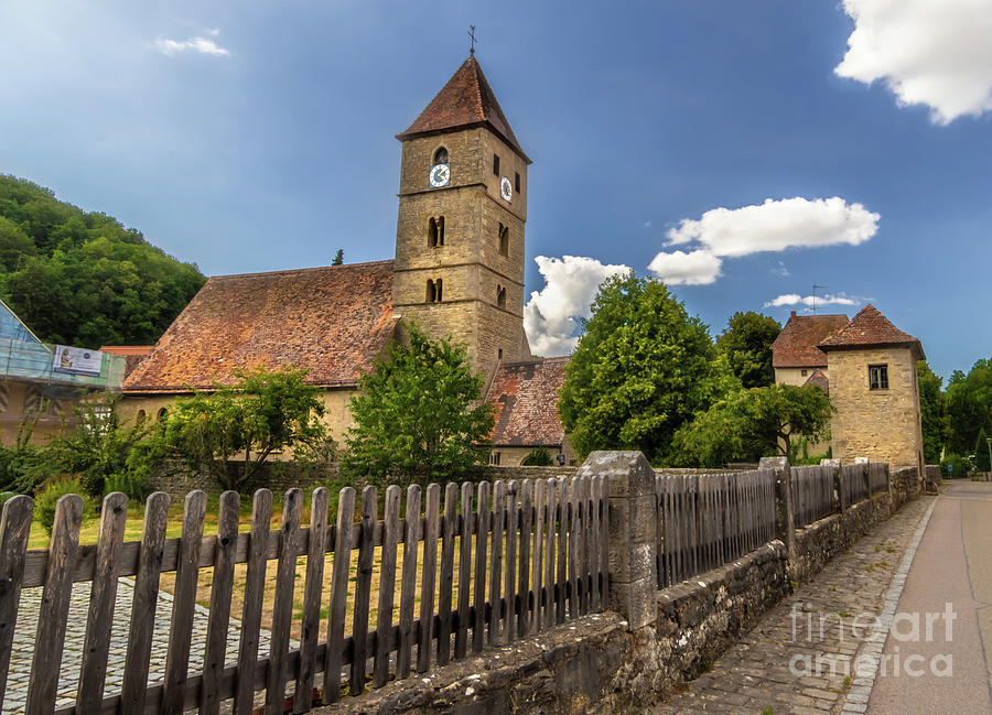Rothenburg Photograph - Rothenburg Ob Tauber Church by Norma Brandsberg