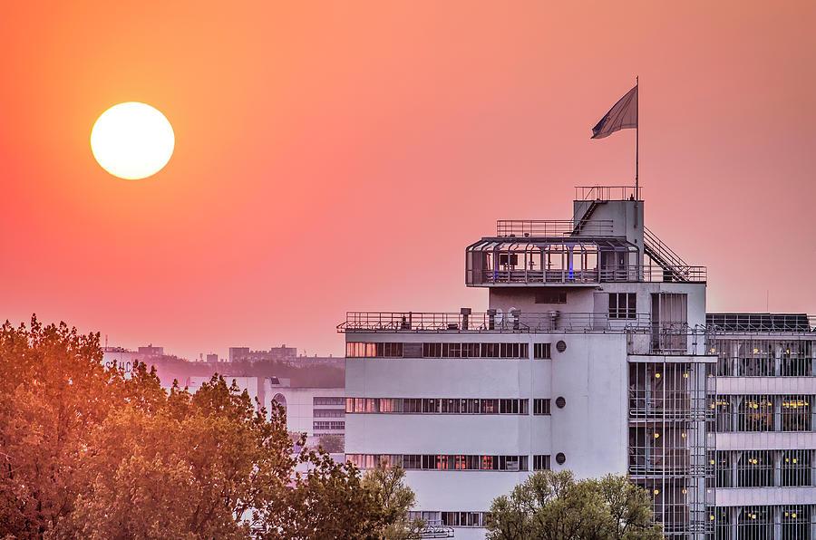 Rotterdam Van Nelle at Sunset by Frans Blok