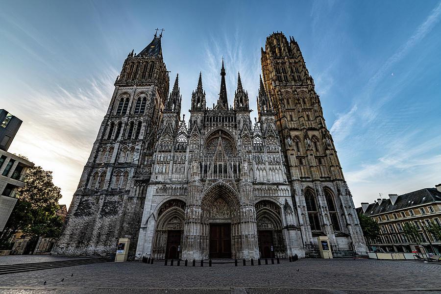 Rouen Cathedral by Randy Scherkenbach