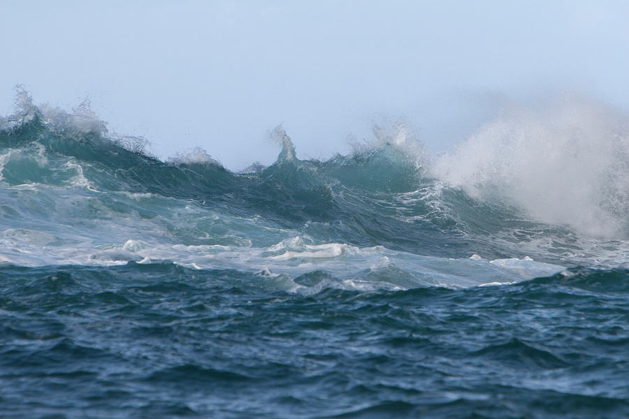 Rough Sea Photograph by Elgol