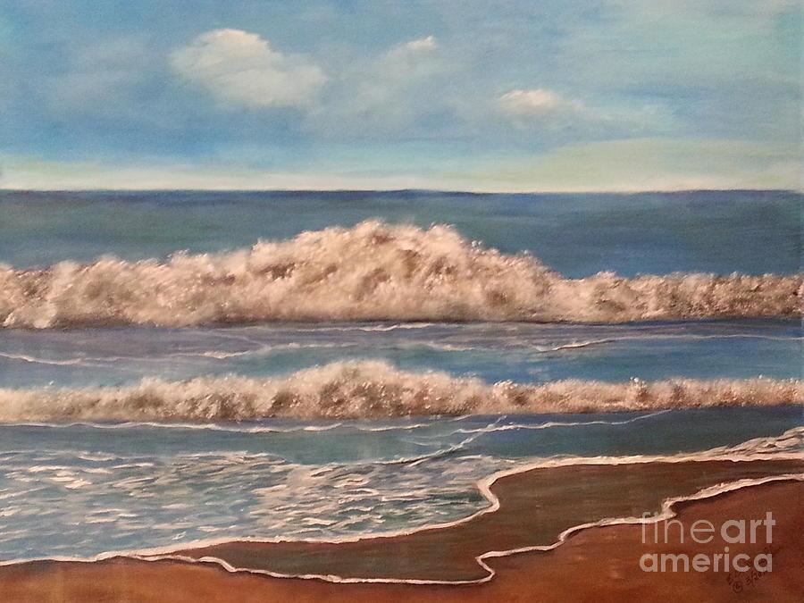 Rough Surf by Elizabeth Dale Mauldin