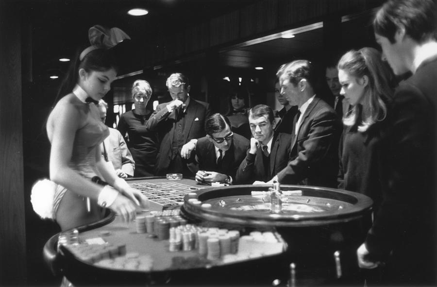 Roulette Players Photograph by David Cairns