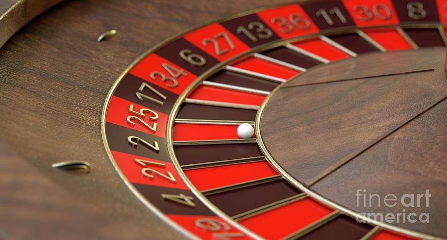 Digital Roulette Wheel