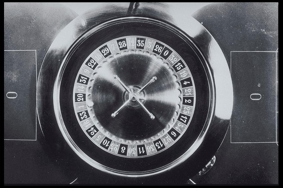 Roulette Wheel From Above Photograph by Archive Holdings Inc.