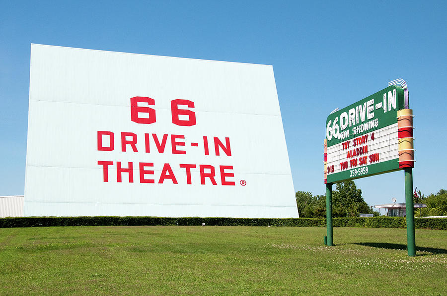 Route 66 Drive In by Steve Stuller