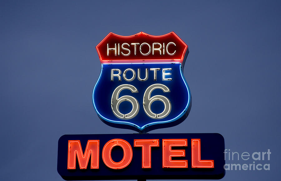 ROUTE 66 MOTEL by Carol Highsmith