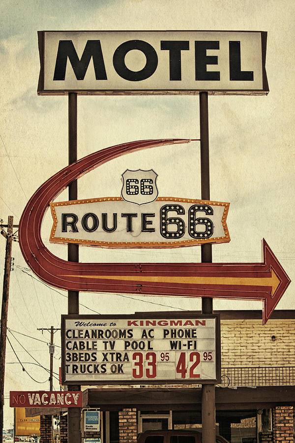 Route 66 Motel in Kingman, Arizona by Tatiana Travelways