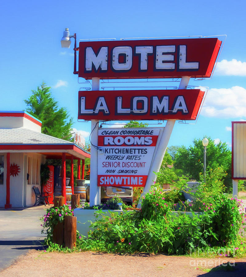 Route 66 Motel by Mel Steinhauer