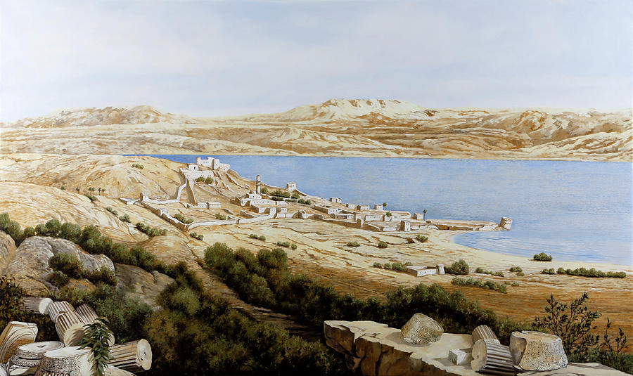 Tiberias Painting - rovine a Tiberiade by Guido Borelli