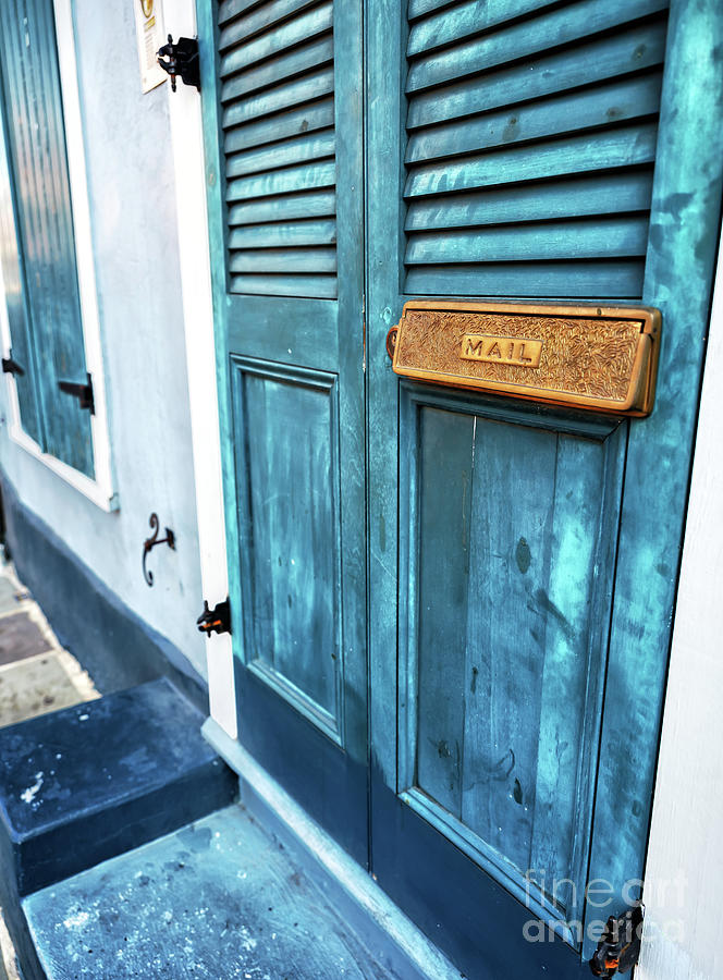 Row House Mail in New Orleans by John Rizzuto