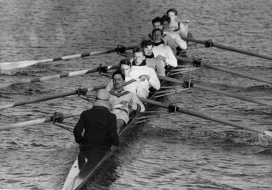 Rowing Eight Photograph by Bert Hardy