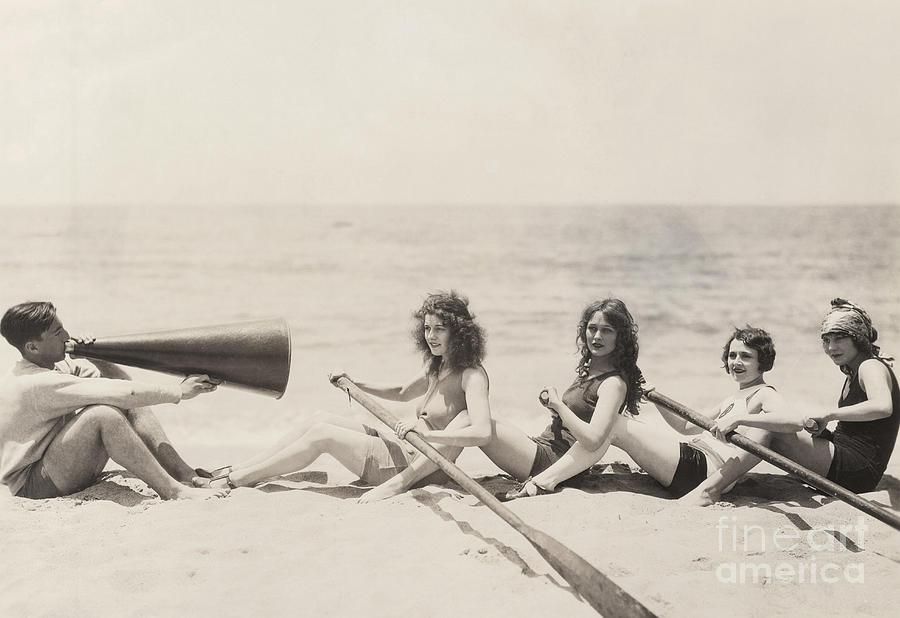 Friendship Photograph - Rowing Lesson by Everett Collection