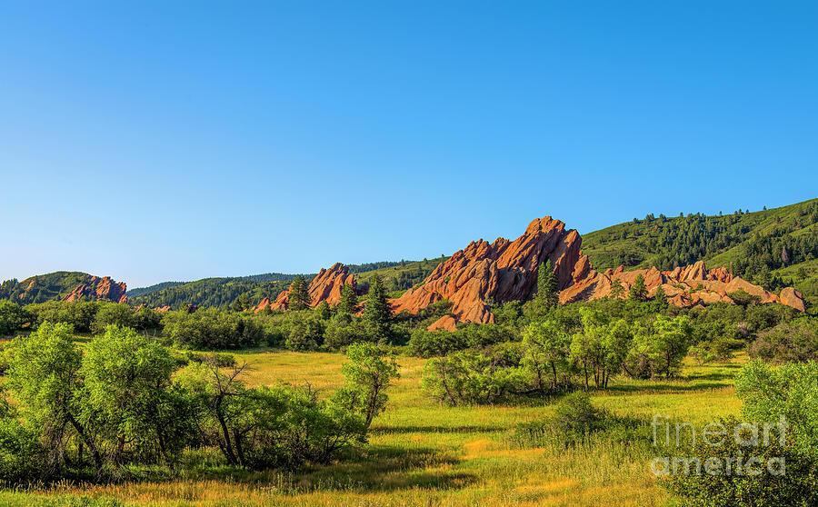 Roxborough State Park Sandstone by Jon Burch Photography