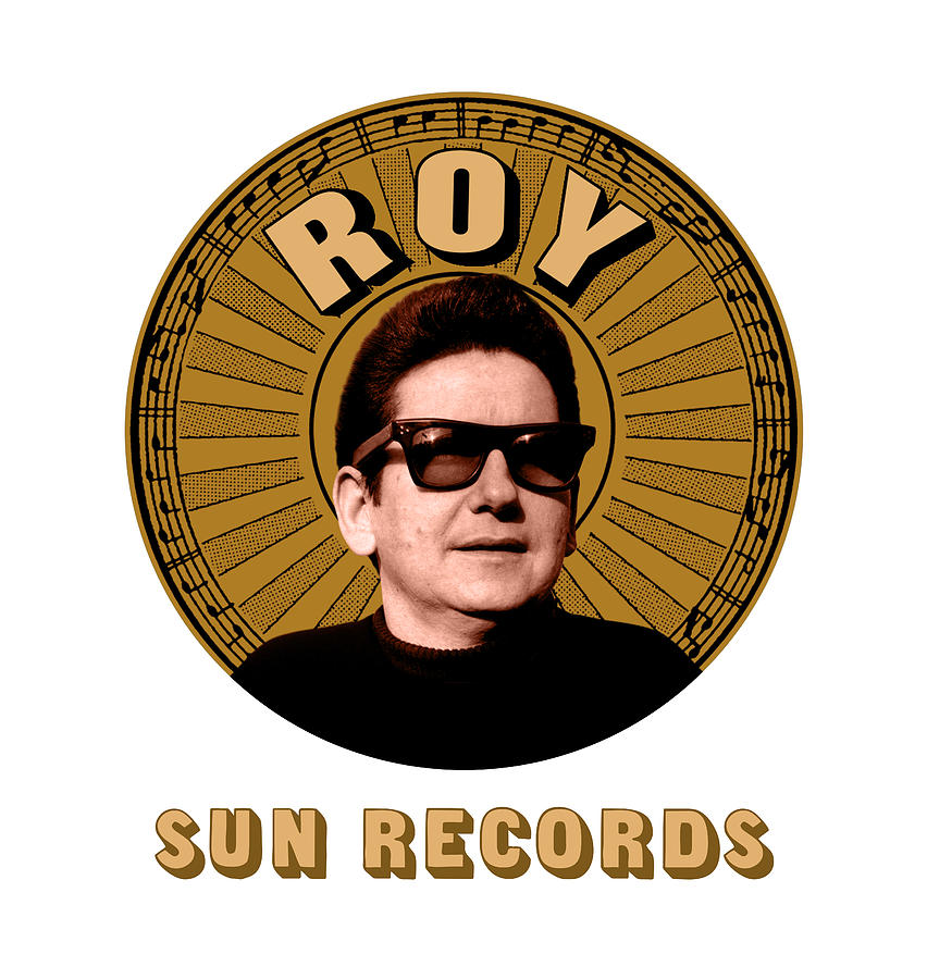 Roy Orbison Digital Art - Roy Orbison - Sun Records by David Richardson