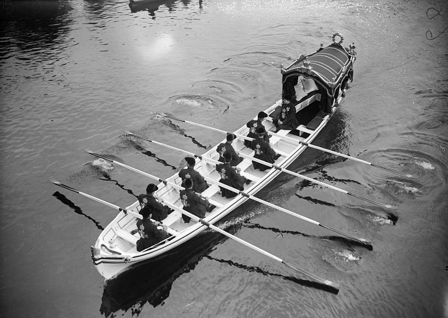 Royal Barge Photograph by W. G. Phillips