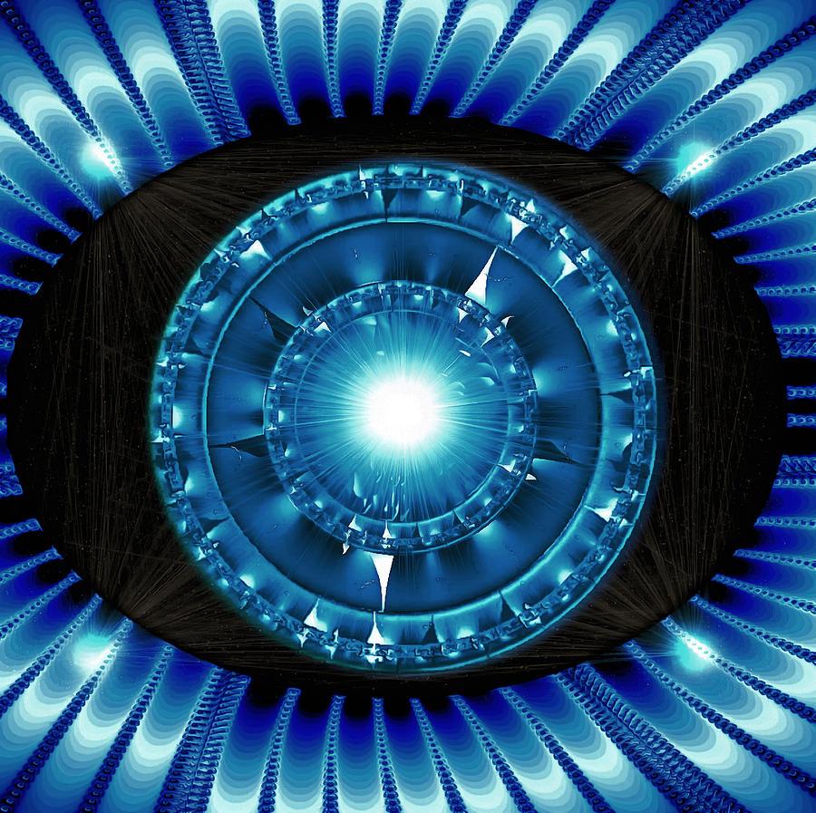 Royal Blue Nova Bliss by Mario Carini