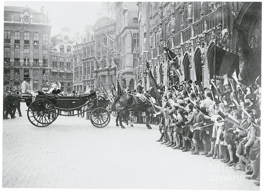 Royal Coach In Brussels Photograph by Bettmann