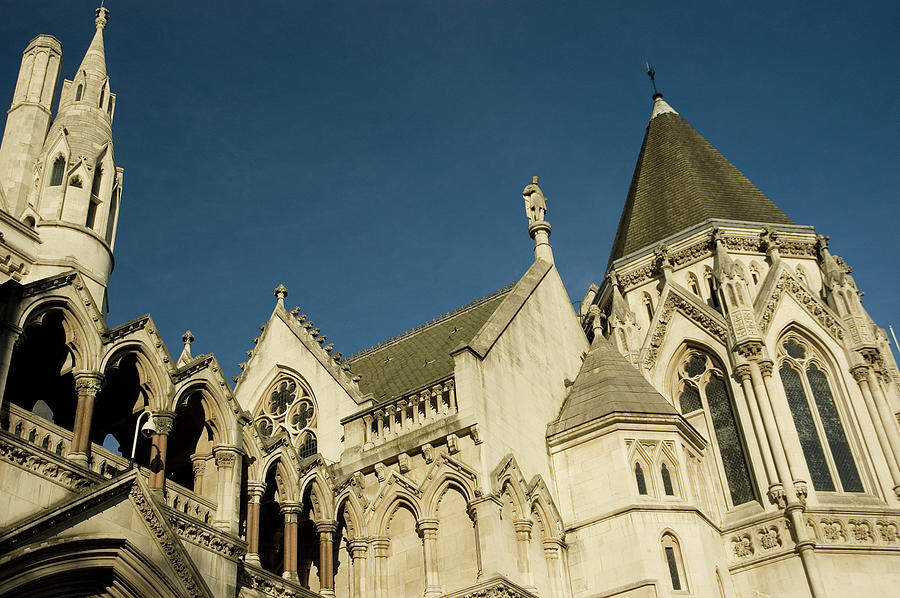 Royal Courts Of Justice London Photograph by Rmax